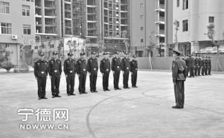 福建消防部队开展消防事务的集训