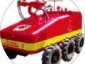 消防灭火机器人问世