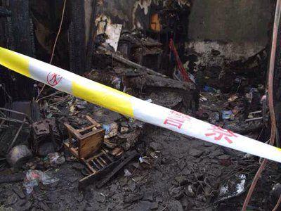 北京磁器口一胡同失火致1死1失踪