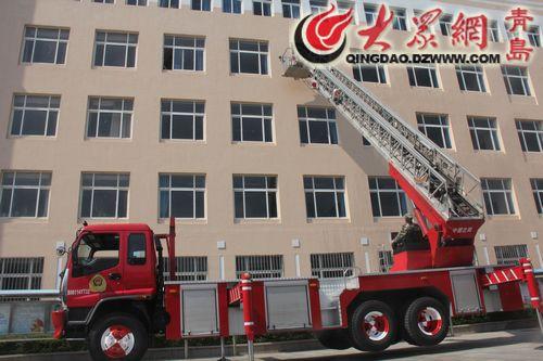 青岛市中小学校地震应急演练启动仪式顺利举行