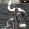 不锈钢钢电控消防水炮