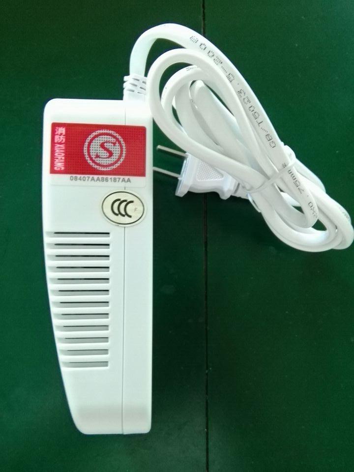 带3C消防认证标签燃气报警器