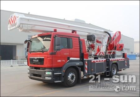 闪速神兵—DG32K1新一代紧凑型登高平台消防车
