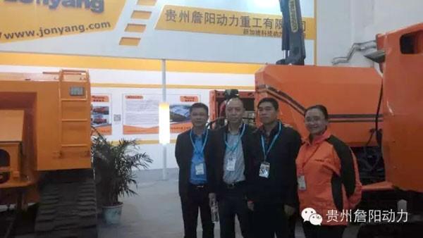 詹阳动力产品首次亮相国际消防展