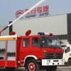 东风153 6-8吨水罐消防车