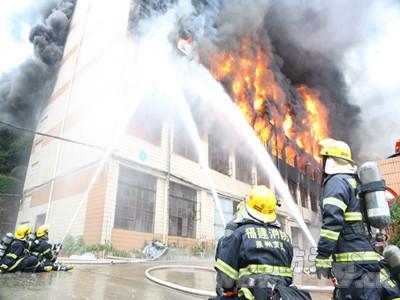 火灾现场灭火救援