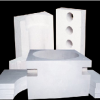 供应来图加工定做陶瓷纤维异形件耐火高温硅酸铝纤维异形件