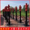 绿屏消防厂家销售快开调压防冻防撞型室外地上消火栓