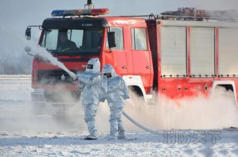 图为演练现场。消防部门供图