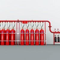 广州景彤 4.2MPa管网式 固定管网灭火系统 七氟丙烷