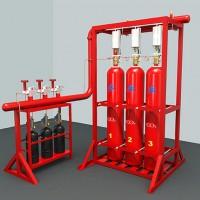 二氧化碳灭火系统 厂家直销 3C认证 气体灭火设备