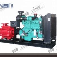 龙水牌CCCF认证柴油机消防泵D型柴油机消防泵组静音高效运行