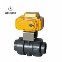 电动PVC球阀Q911S优质服务