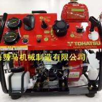 赞马15马力手抬机动森林消防水泵日本东发V20D2水泵