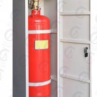 宸安消防七氟丙烷自动气体灭火柜式无管网GQQ150/2.5