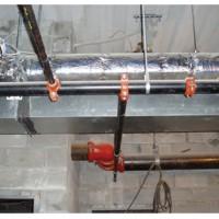 自动喷水灭火装置  开孔系统