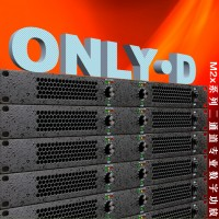 1U超薄专业D类数字功放机舞台2x1200W