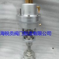 供应锐贡阀门 KDJ661F-25P低温气动截止阀