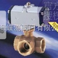 KITZ_CS/C-TNE气动三通球阀,北泽气动青铜球阀