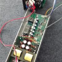 线阵音箱DSP有源功放模块8欧3x400W频点任设开关电源