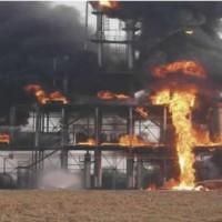 化工生产装置火灾事故处置训练区