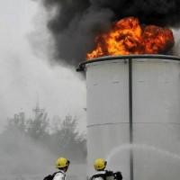 青岛凌鼎油罐火灾事故处置训练设施