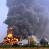 气体球罐火灾事故处置训练设施