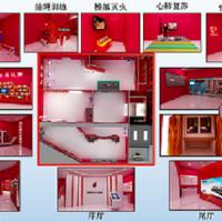 青岛凌鼎为高校提供安全教育馆互动趣味体验