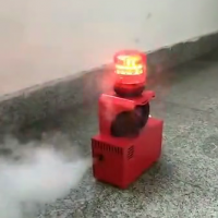 青岛凌鼎消防演习专用烟雾报警器