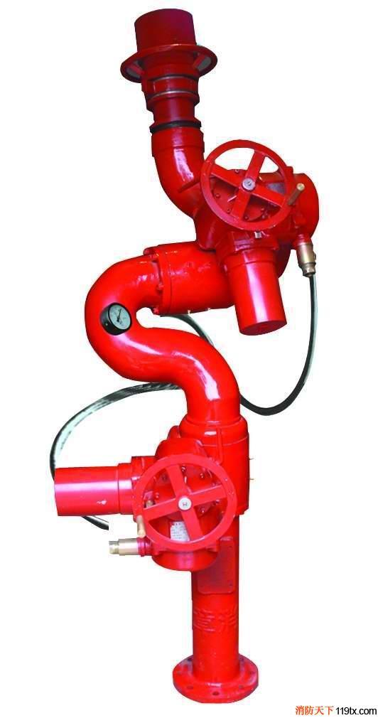 供应宏宇智能可调式电控消防水炮宏宇智能可调式电控消防